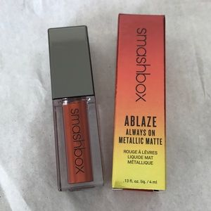 BNIB SMASHBOX BLOW TORCH ABLAZE METALLIC LIQUID